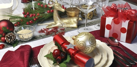 Une table festive